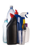 Recicle los plásticos Imágenes de archivo libres de regalías