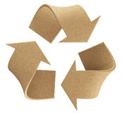 Recicle o logotipo Foto de Stock Royalty Free