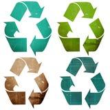 Recicle o papel ilustração stock