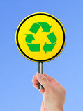 Recicle o símbolo Foto de Stock