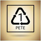 Recicle o símbolo Logo Web Icon ilustração stock