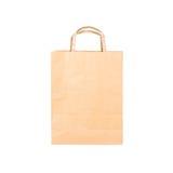 Recicle o saco de papel Imagens de Stock