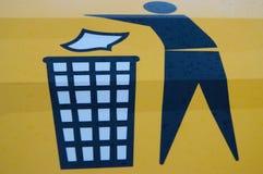 Recicle, recicle Fotografía de archivo libre de regalías