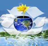 Recicle recursos Fotografia de Stock Royalty Free