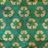 Recicle. Teste padrão sem emenda. Foto de Stock