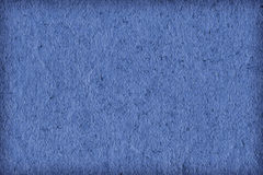 Recicle a textura clara de papel Sampl do Grunge da vinheta de Marine Blue Extra Coarse Grain Imagem de Stock Royalty Free