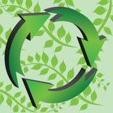 Recicle Zeichen Lizenzfreies Stockbild
