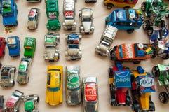 Recicled Toys Cars Stock Photos