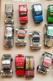 Recicled Toys Cars Royalty Free Stock Images