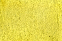 Recicled yellow paper Royalty Free Stock Photography