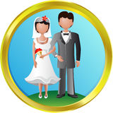 Recienes casados Libre Illustration