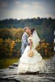 Recienes casados Foto de archivo libre de regalías
