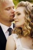 Recienes casados Fotos de archivo