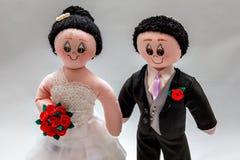 Recienes casados Imagen de archivo
