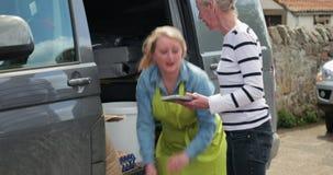 Recieving Food Deliveries