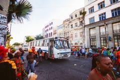 Carnival parade in recife,pernambuco, brazil royalty free stock photos