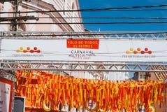 Carnival parade in recife,pernambuco, brazil stock image