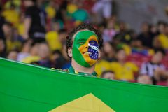Brazil v Uruguay - FIFA 2018 World Cup Qualifiers Stock Image