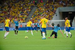 Brazil v Uruguay - FIFA 2018 World Cup Qualifiers Royalty Free Stock Image