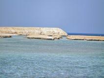 Recife coral sul de Abu Ramada Fotografia de Stock Royalty Free
