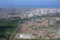 Recife dall'aria Fotografie Stock