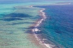 Recife de coral nas Caraíbas Fotos de Stock