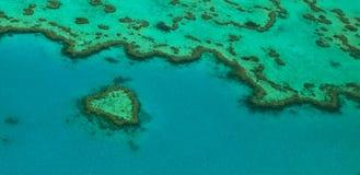 Recife do coração Foto de Stock Royalty Free