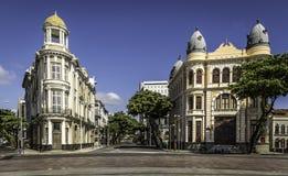 Recife i Pernambuco, Brasilien Arkivfoto