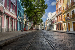 Recife. View of Bom Jesus Street in Recife Antigo, Pernambuco, Brazil stock photos