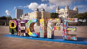 Recife w Pernambuco, Brazylia fotografia stock