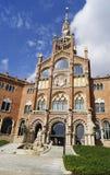 Recinte Modernista de Sant Pau i Barcelona Royaltyfri Foto