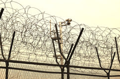 Recinti di DMZ Immagini Stock Libere da Diritti