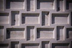 Recinto concreto dipinto strutturato con la scenetta Fondo, struttura fotografie stock