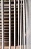 Recinto d'acciaio Fotografia Stock Libera da Diritti