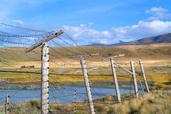 Recinto del confine di Ssia Cina del plateau Ukok, Altai della montagna Fotografia Stock Libera da Diritti