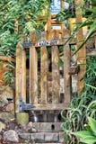 Recinto del giardino Fotografie Stock Libere da Diritti