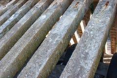 Recinto della colonna concreta Fotografia Stock