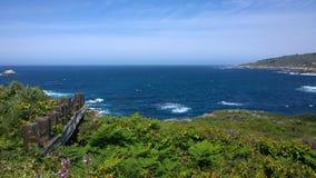 Recinto della costa di Big Sur Fotografia Stock