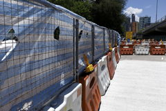Recinto della costruzione Fotografie Stock