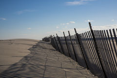 Recinto della neve delle dune di sabbia Immagini Stock