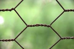 Recinto della rete metallica Immagine Stock Libera da Diritti