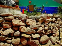 Recinto della roccia fotografia stock