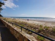 Recinto della spiaggia fotografia stock libera da diritti
