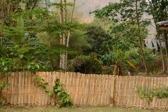Recinto di bambù Immagine Stock