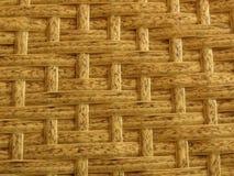 Recinto di bambù tessuto Background Straw Weave Texture del rattan Struttura della mobilia del rattan fotografia stock libera da diritti