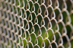 Recinto di filo metallico della maglia metallica immagine stock libera da diritti
