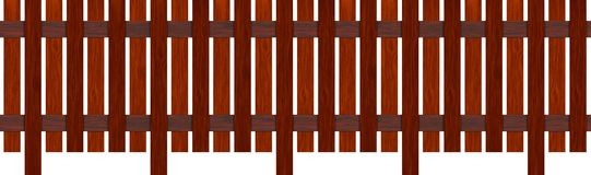 Recinto di legno Fotografia Stock