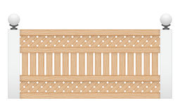 Recinto di legno Immagine Stock Libera da Diritti
