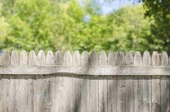 Recinto di legno With Copy Space qui sopra durante l'estate Fotografia Stock