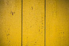 Recinto di legno della pittura della sbucciatura Fotografia Stock Libera da Diritti